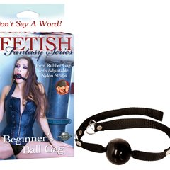 BEGINNER'S BALL GAG - ЧЕРНЫЙ