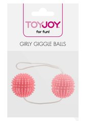 GIRLY GIGGLE LOVE BALLS SOFT PINK